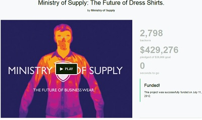 Ministry of Supply After the Crowdfunding Campaign