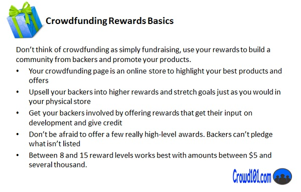 crowdfunding rewards basics