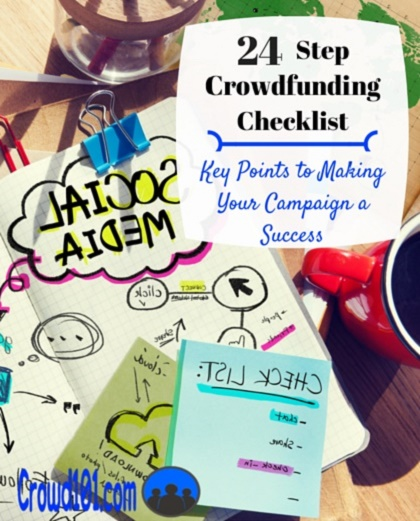 24-Step Can't Miss Crowdfunding Checklist