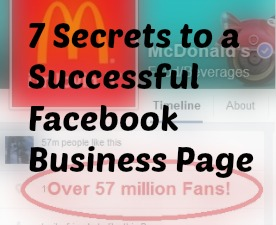 7 Secrets to a Successful Facebook Business Page