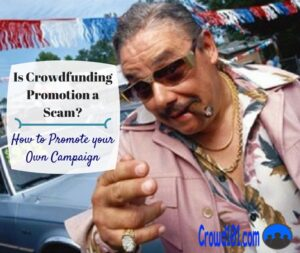 crowdfunding promotion scam