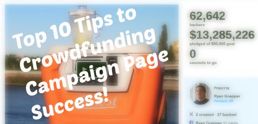 Top 10 Tips to Crowdfunding Campaign Page Success