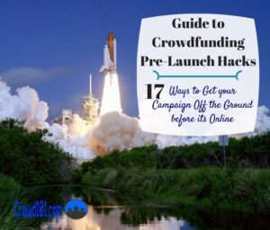 Getting Started Crowdfunding pre-launch