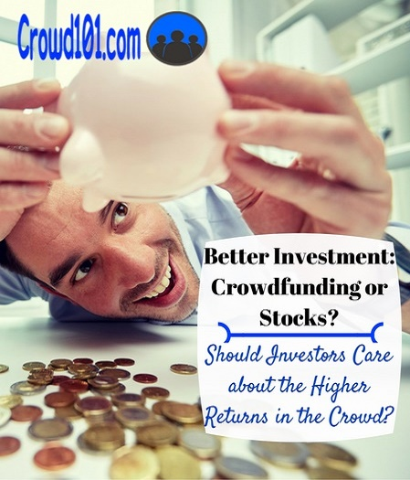 Best Investment: Equity Crowdfunding versus Stock Investing?