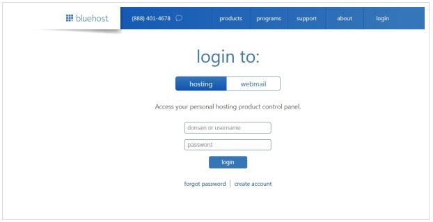 Crowdfunding Blog BlueHost Login
