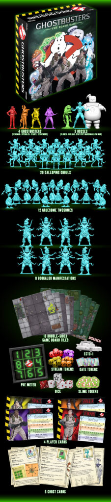 Ghostbusters Crowdfunding Game