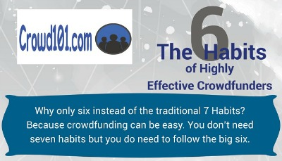 The 6 Habits of Highly Effective Crowdfunding – Infographic