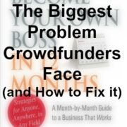biggest crowdfunding problem