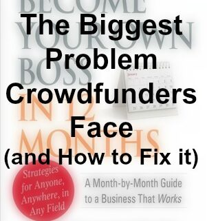 biggest crowdfunding problem