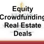 equity crowdfunding real estate