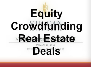 Equity Crowdfunding Real Estate Deals
