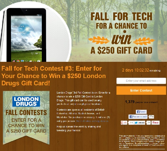 Contest Page Fundraising Outreach