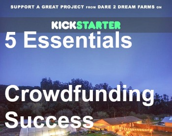 crowdfunding success kickstarter