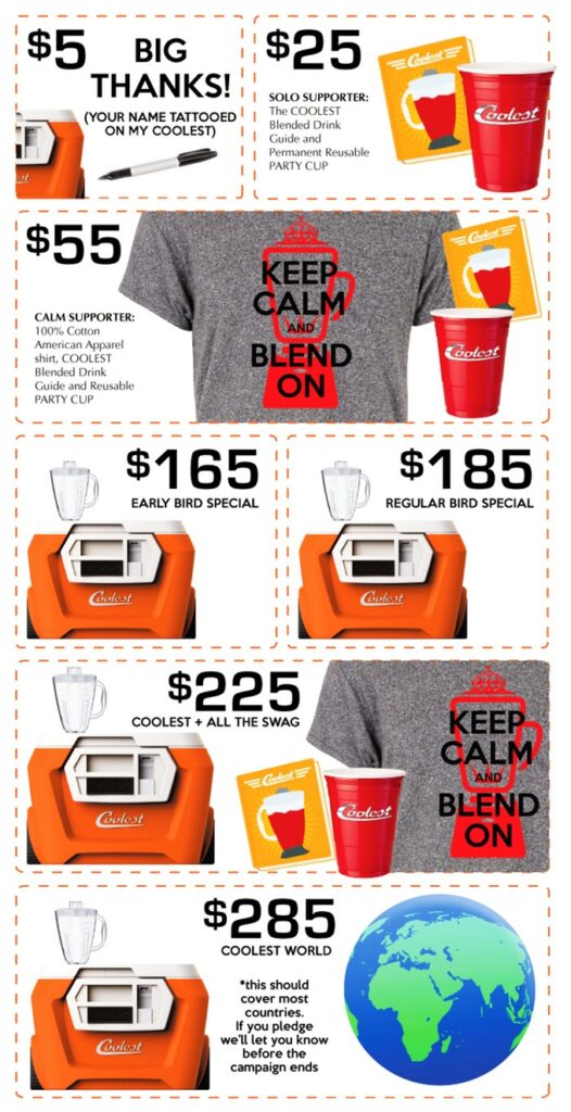 Crowdfunding Rewards Coolest Cooler