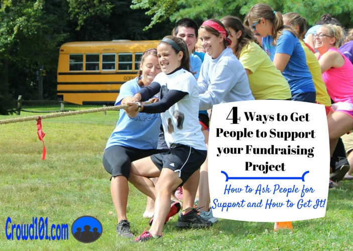 easy asking for support fundraising