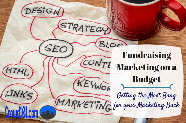 crowdfunding marketing fundraising marketing budget