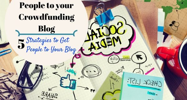 get traffic crowdfunding blog fundraising