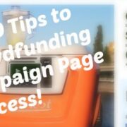 Crowdfunding Campaign Page Success