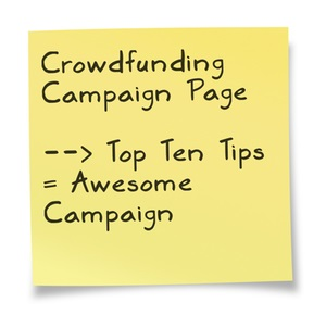 Crowdfunding Campaign Page Tips