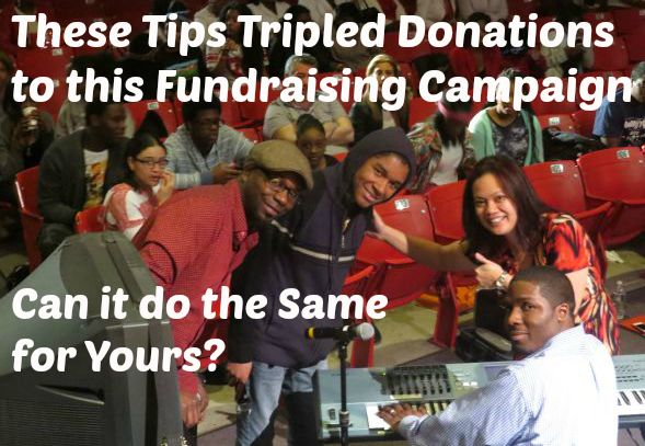 30 Minutes Tripled Donations to this Fundraising Campaign