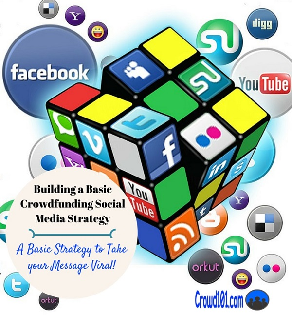 basic crowdfunding social media strategy plan