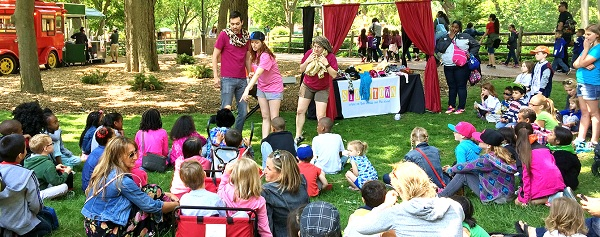 Crazy Fundraising Ideas Improv in the Park