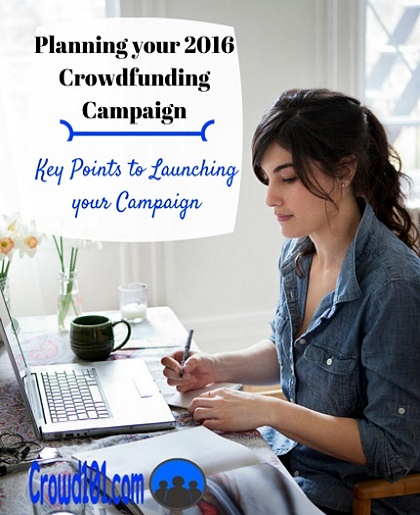 How to Plan a 2016 Crowdfunding Campaign