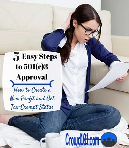 5 Easy Steps to Charity 501c3 Form 1023 Approval