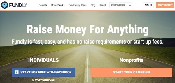 social crowdfunding website