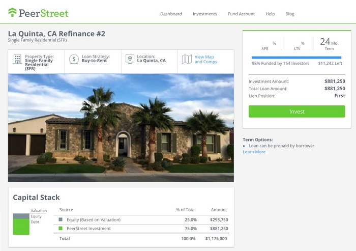 real estate crowdfunding investment review