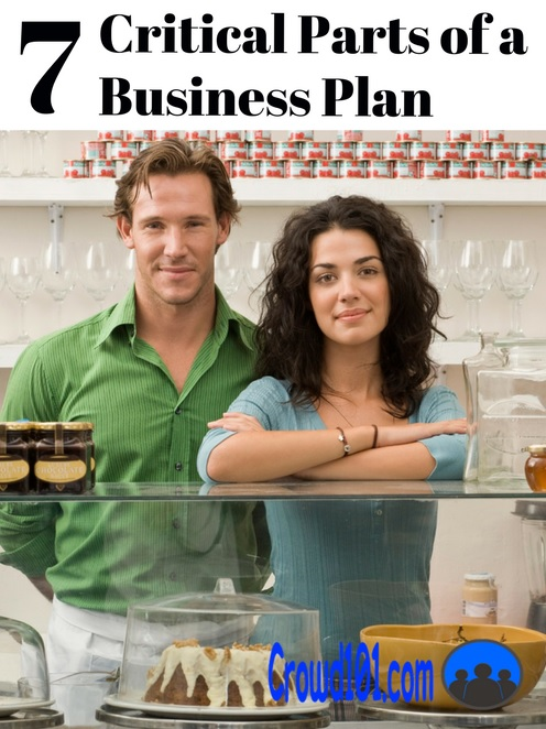 7 Critical Parts of a Business Plan for Small Business Owners