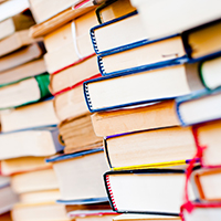 Choose a used book sale as a quick fundraising idea!