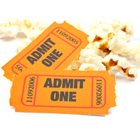 Movie night is a great school fundraising idea for any grade!