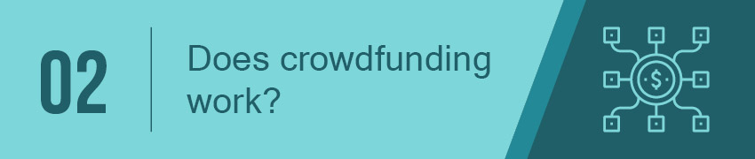 Does crowdfunding work?