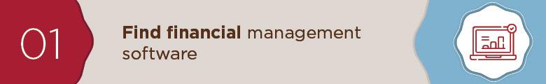 Find financial management software.