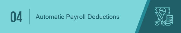 Automatic payroll deductions make for a great workplace giving strategy.